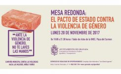 "MESA REDONDA: ""PACTO DE ESTADO EN MATERIA DE VIOLENCIA DE GÉNERO"""